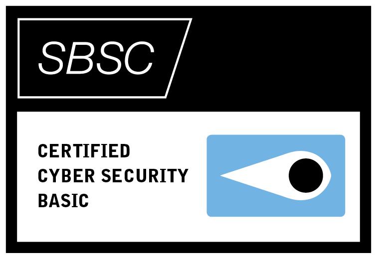 Vi har certifierat oss enligt SSF 1101!